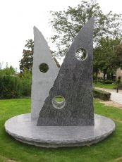 Harrie Gerritz, veteranenmonument in Beuningen